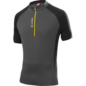 Löffler Rocky Bike Shirt Half-Zip Herren anthrazit